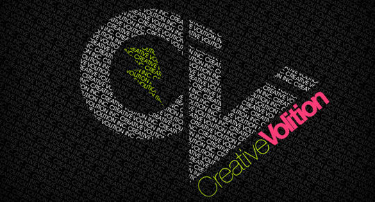 Wallpaper: Creative Violation - Logo Typography Wallpaper