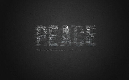 Wallpaper: punkdbydaniels - PEACE wallpaper