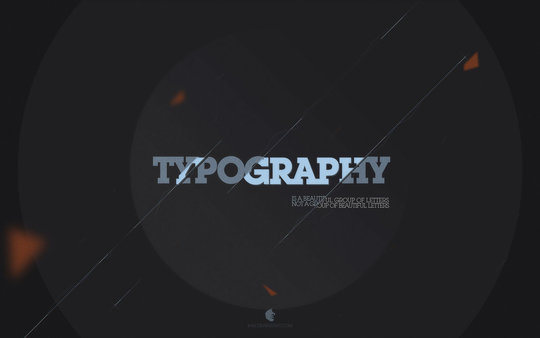Wallpaper: B-82 - Typography