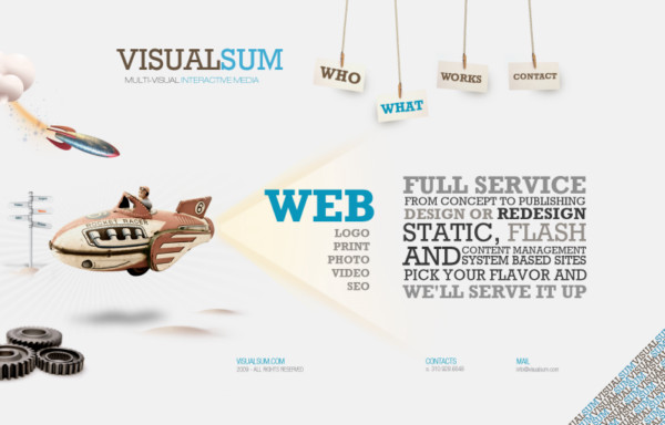 Visual Sum On Showcase Of Web Design In  Argentina