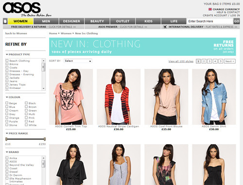 Online Store for Fashion Clothing and Accessories. IKNOWSTUDIO by Timsy and Siddhartha