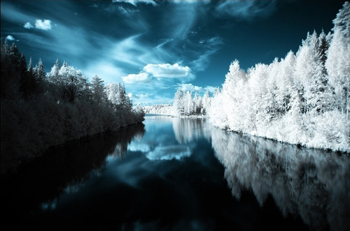 Land of Dreams in Infrared Photography