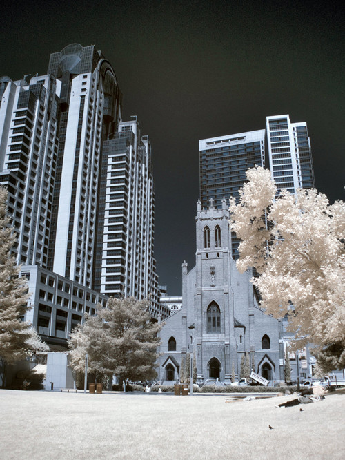 San Francisco Infrared in Infrared Photography