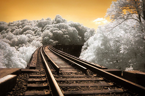 The Past Revisited in Infrared Photography