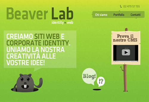 Showcase of Italian Web Design Pt.2