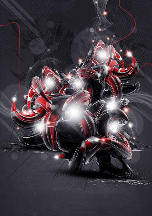 55 Amazing 3D Abstract Artworks & Wallpapers