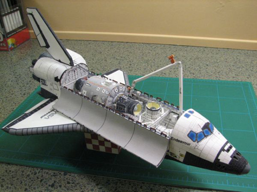 spacecraft paper models to build - photo #34