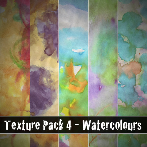 Texture Pack 4 - Watercolours