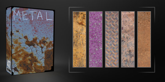 Metal Texture Pack - 47 Free Images