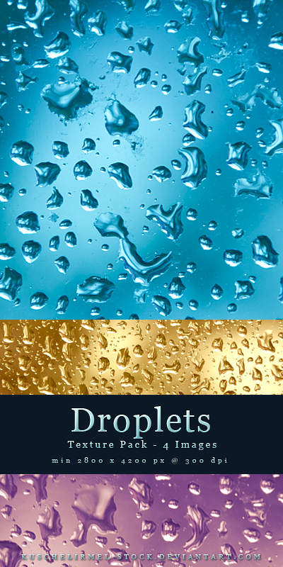 Droplets - Texture Pack