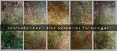 5 Colored Dark Free Grunge Textures Pack