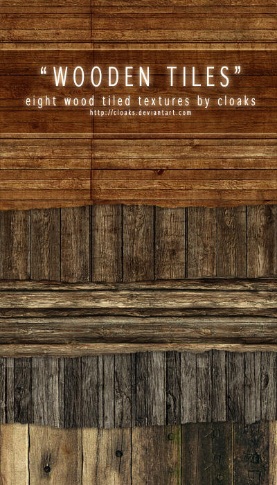 Wooden Tiles Texture Pack