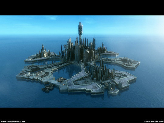 Image: Diston - Atlantis City Daytime