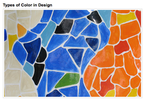 Elements Of Design Color Definition : Graphic design theory resources and articles noupe