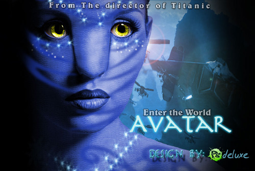Create Avatar Movie Poster in Photoshop