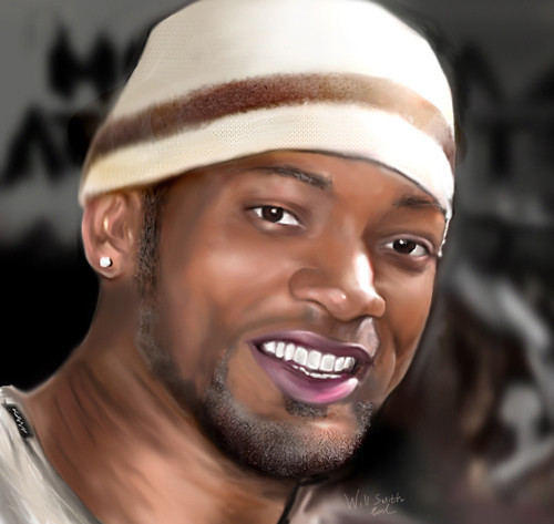 Will Smith Digital Painting