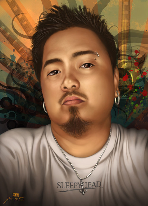 Commissioned Portrait: Carlo