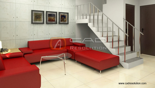 3D Render Images - 3D Interior Render Models