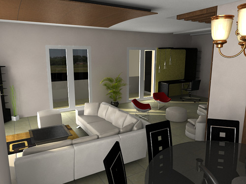 Architectural 3D Rendering - Architectural Animation, Walkthrough