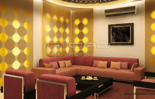 Interior Models Design - Interior Rendering 3D