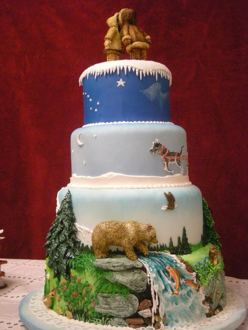 50 Creative Cake Designs Around The World - noupe