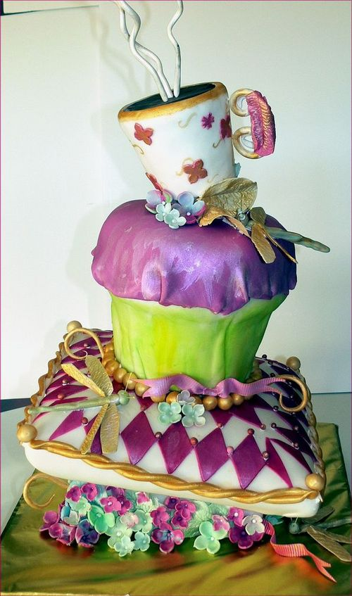 Mad Hatter Cake Designs