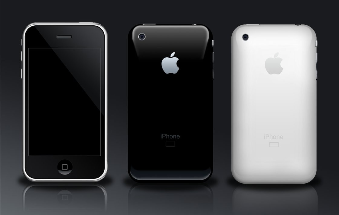 iphone 3g PSD HD