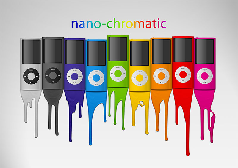 iPod nano-chromatic - Apple