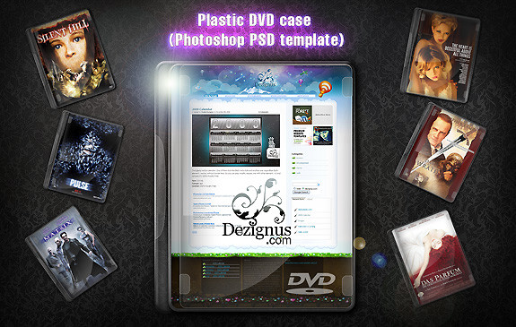 Plastic DVD Case