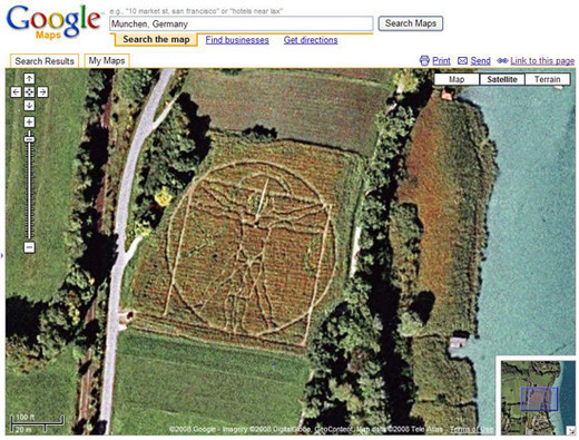 40 bizarre and cool google earth photos noupe screenshot gumiabroncs Gallery