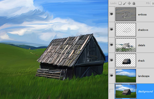 Photoshop CS5 Digital Painting Tutorial