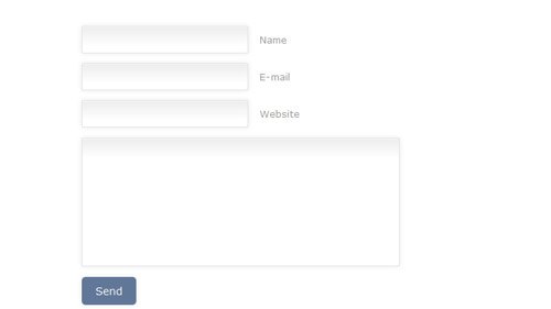Design a Prettier Web Form with CSS 3