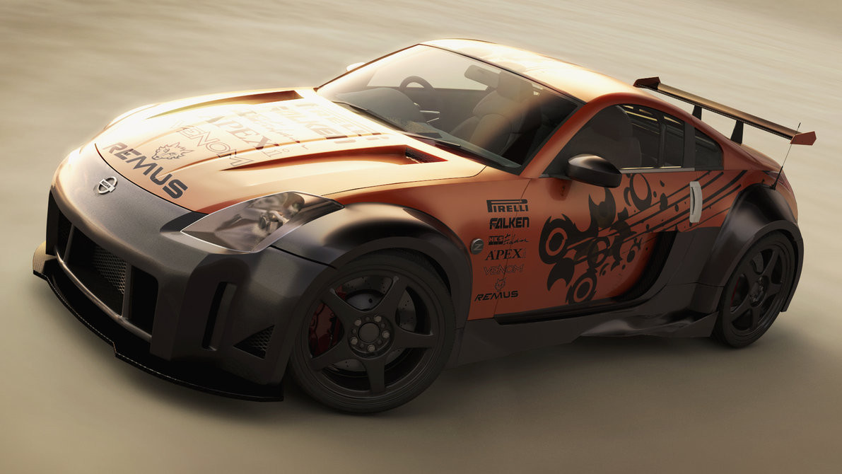 Image: Lost-artist89 - Nissan 350z Tuned finished