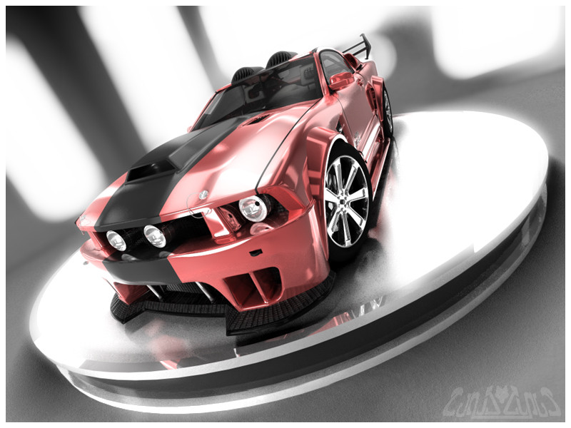 Image: CanisLoopus - Mustang GT Red Edition