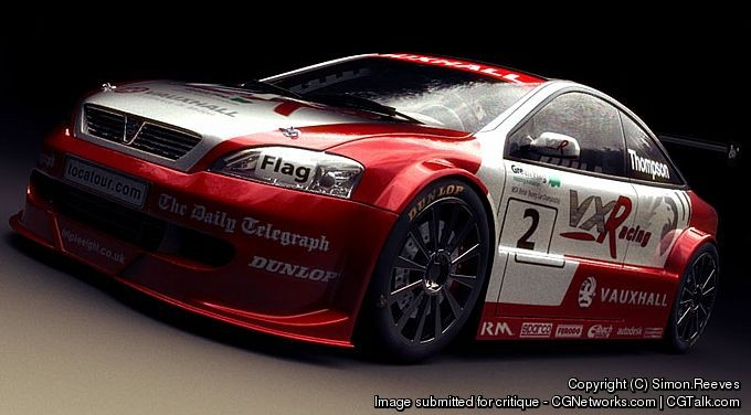 Image: Simon Reeves - Vauxhall Astra Touring Car