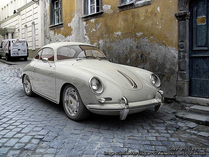 Image: András Páll - Vehicle: Porsche 356B