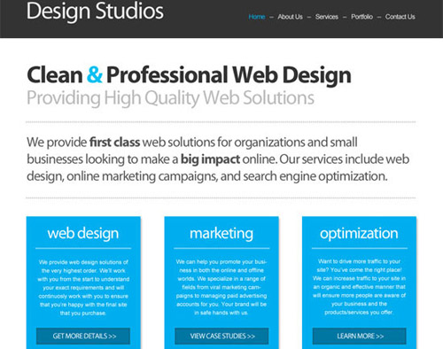 how to professionally create websites