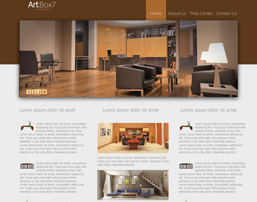 Photoshop web design layout tutorials from 2010 noupe for Best online drawing websites