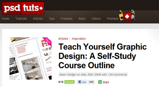 Teach Yourself Graphic Design