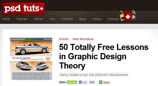 50 totally free lessons in graphic design