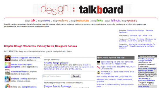 Design Talk Board