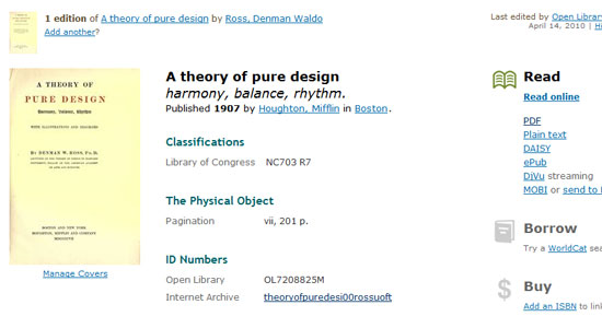 theory of pure design