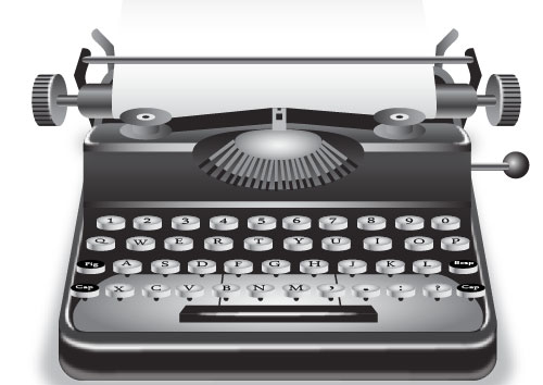 How to Draw a Vintage Typewriter Icon Inside Adobe Illustrator