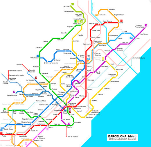 Metro and Underground Maps Designs Around the World noupe