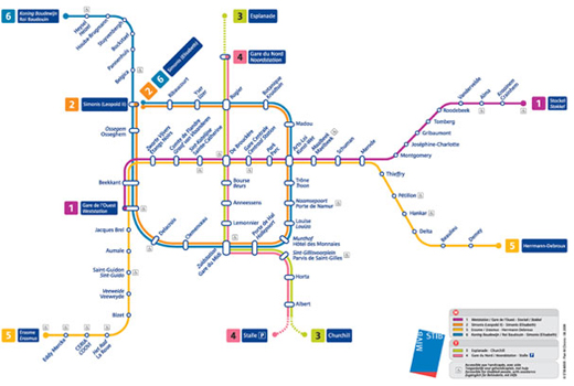 Metro and Underground Maps Designs Around the World - noupe
