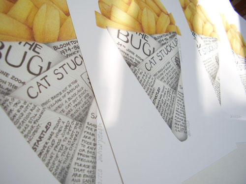 NEW print The Great British Chip