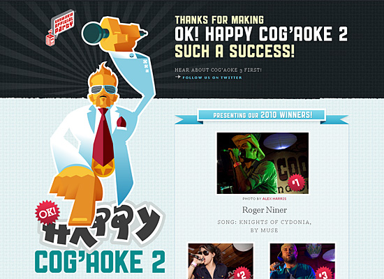 cogaoke website design