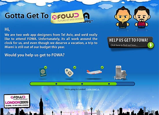 gotta get to fowa website design