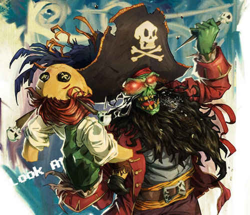Digital Painting Lesson: Monkey Island 2: LeChuck's Revenge Special Edition