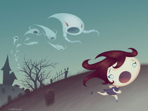 ghostly escape